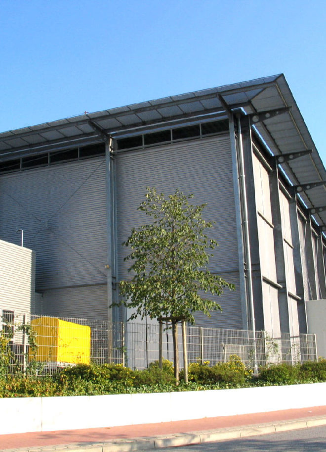 Seitenansicht Industriemuseum Lohne